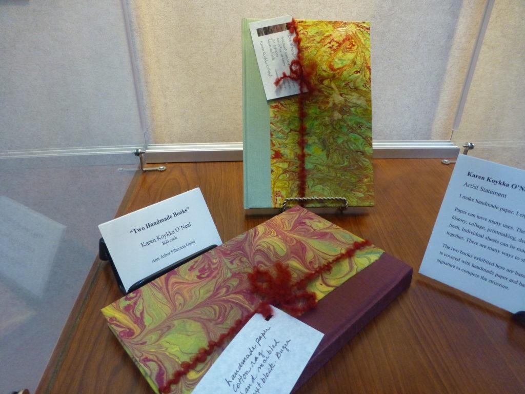 """Karen Koykka O'Neal """"Two Handmade Books"""""""